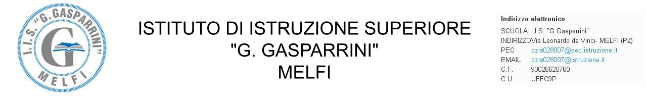 "IIS ""G. Gasparrini"" - Melfi Logo"